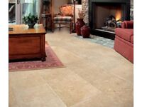 New large format floor tiles