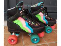 Rio Roller Passion quad skates. Size 3