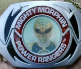 Power rangers ORIGINAL 1994 mighty morphin bandi