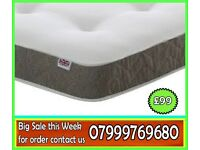 *****POCKET *****SPRUNG ****2000 MEDIUM FIRM *****SINGLE DOUBLE OR KING SIZE MATTRESS ****