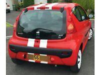 Peugeot 107, 3dr, 58900 miles