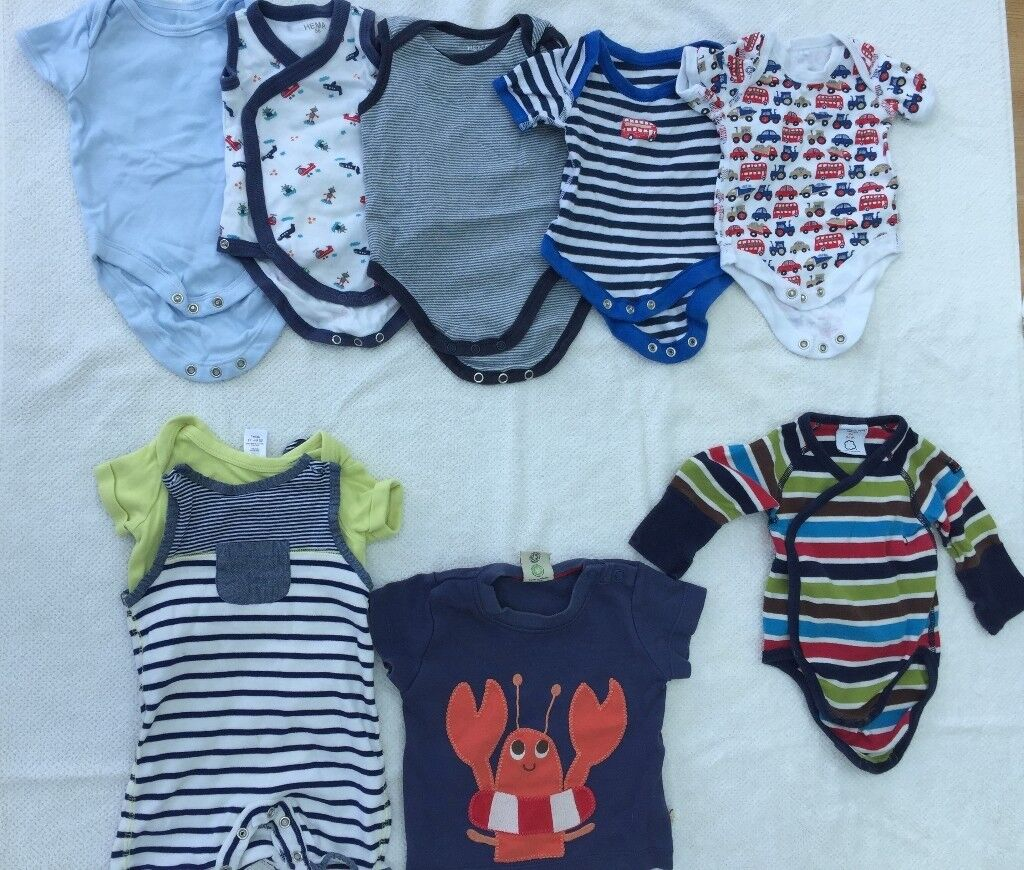 ff1169ca75a Bundle of baby boy clothes (summer) age 0-3 months