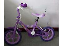 Toddler's girls bike