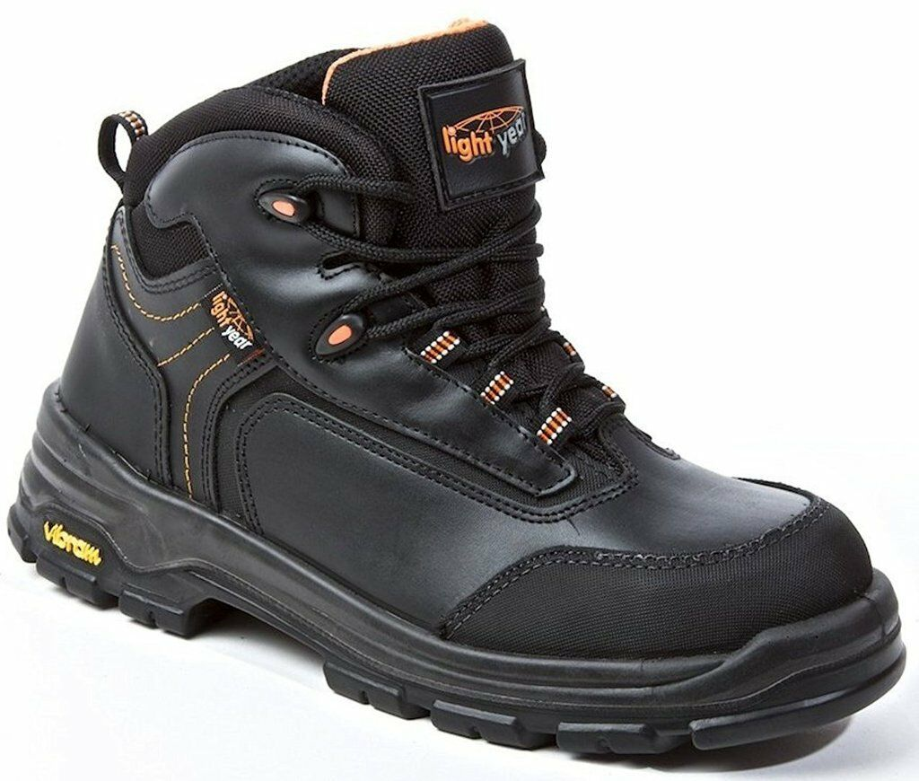 best cheap top fashion great quality Safety Boots, Metal Free Light Year, Leather Safety Shoes, S3 HRO ...