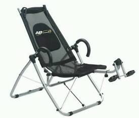 Ab lounger xl gym exercise machine