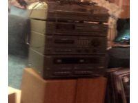 Sony Midi Hifi Stereo that plays vinyl records
