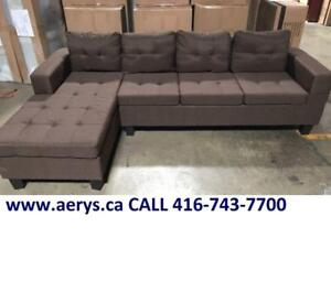 SECTIONAL SOFA ON HUGE SALE FOR $295 ONLY!!!!! CALL 416-743-7700 !!!