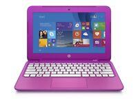 PINK HP STREAM/ INTEL DUAL CORE 2.16 GHz/ 2 GB Ram/ 32 GB eMMC/ HDMI/ WEBCAM/ USB 3.0/ WIN 10