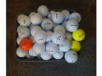 Mixed Golf Balls