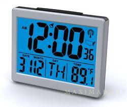 Atomic Desk bedroom Alarm Clock-1.5 Time Number, Back Blue Light  Brand New