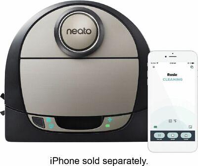 Neato Robotics - Botvac D7 Wi-Fi Connected Robot Vacuum - Black/Gray