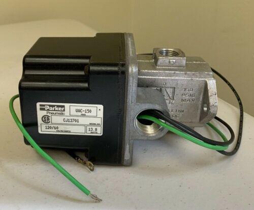 PARKER PNEUMATIC CJ12701 VAC-150 120/60 volts/hertz 13.8 watts