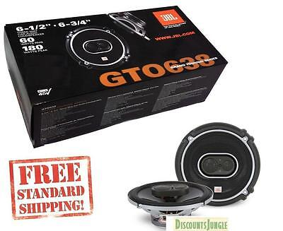 Jbl Gto638 360W 6 5  6 75  3 Way Grand Touring Gto Coaxial Car Speakers Infinity
