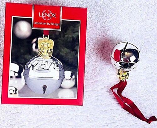 LENOX just jingles angel jingle bell christmas ornament two inch decorations new