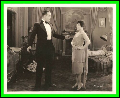 "VIRGINIA VALLI & WILLIAM H. TOOKER in ""Ladies Must Dress"" Original 1927 - SILENT"