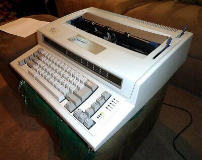 See Video Demo - Ibm Personal Wheelwriter 2 By Lexmark 6781-025