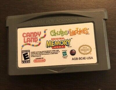 Used, Candy Land, Original Memory Game, Chutes Ladders Nintendo Game Boy Advance for sale  Bel Air
