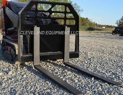 New 36 Pallet Forks Frame Attachment Bobcat 463 Mini Skid-steer Track Loader