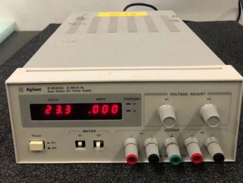 AGILENT E3620A DUAL OUTPUT DC POWER SUPPLY