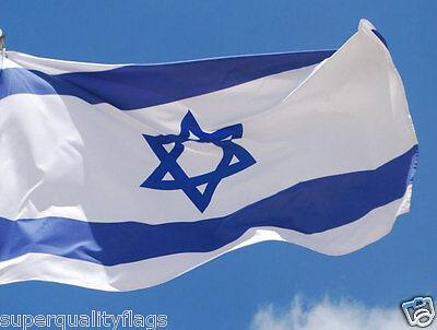 ISRAEL ISRAELI FLAG NEW 3X5 ft BETTER QUALITY USA SELLER