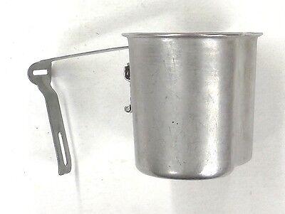 MILITARY USGI 1965 DATED VIETNAM ERA STEEL M1910 CANTEEN CUP