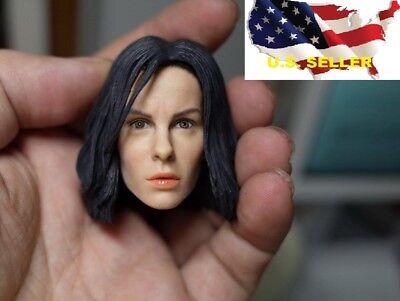 1 6 Kate Beckinsale Female Head Selene Underworld Brown Eye Phicen  Us In Stock