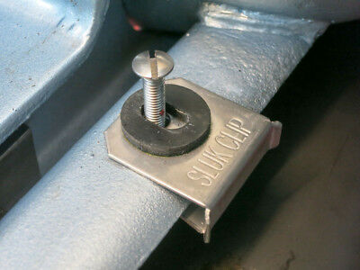 Lambretta bridge body fixing kit SLUK CLIP stainless clips FAST, EASY, COMPLETE