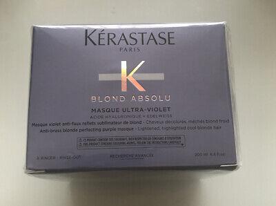 Kerastase Blond Absolu Masque Ultra-Violet 200ml, New