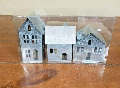 Galvanized Metal House Set - Target - Set of 3