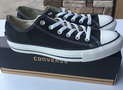 CONVERSE Chuck Taylor All Star Low Oxford Sneaker  X9166 Black Sizes 11.5 to 14 ()