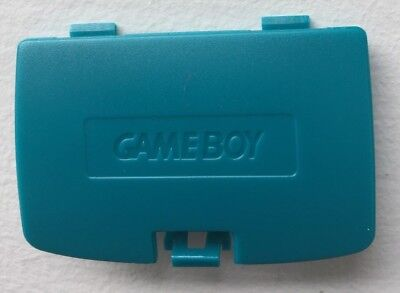 Teal Blue Color (New Teal Blue Battery Cover Game Boy Color System - GBC Replacement)