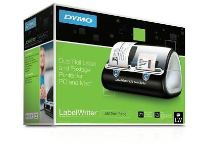 Dymo Labelwriter 450 Twin Turbo Label Thermal Printer - 71 Per Minute Postage