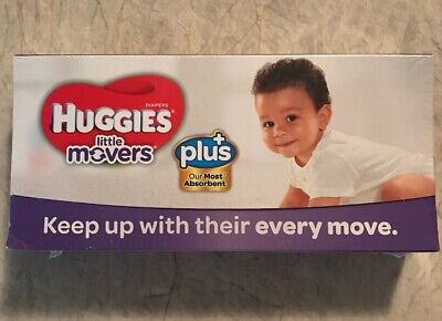 HUGGIES Little Movers Diapers Size 3 16-28 Lbs. Trial Travel Pack 3 Count