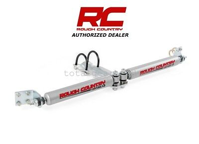- 1994-1999 Dodge Ram 1500 4WD Rough Country Dual Steering Stabilizer [87321.20]