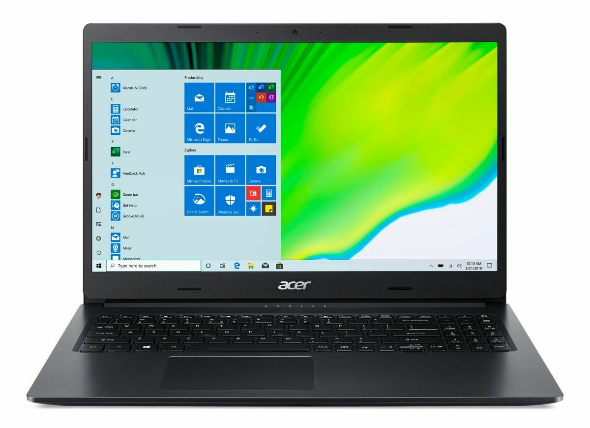 "Laptop Windows - Acer Aspire 3 15.6"" Laptop AMD Athlon 3020E 4GB DDR4 128GB SSD Windows 10"