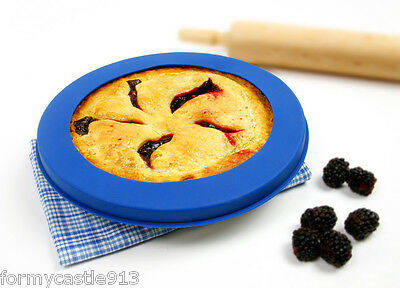Norpro 3278 Reusable Silicone Pie Crust Shield Up To 10 Prevents Crust Burning on Sale