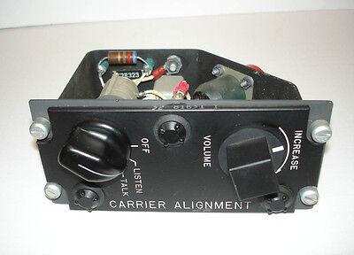 U.S. F-4 Phantom II Carrier Alignment Control Panel, Cockpit, Instrument, Unused