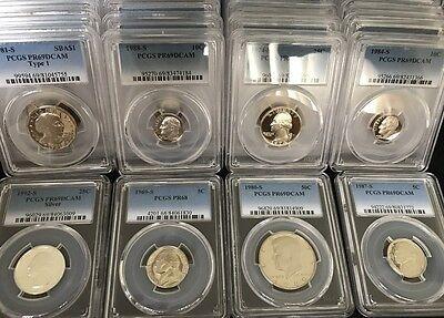 ✯ ESTATE SALE! ✯ PCGS Slabbed GRADED U.S. Proof Coin Hoard ✯ 3 SLAB LOT + BONUS