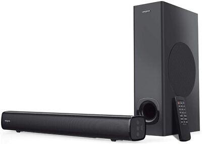 Creative Stage MF8360 2.1 Soundbar with Subwoofer, Bluetooth & Optical Input