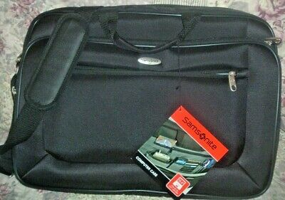 "Samsonite Computer Laptop Case Bag Fits 18.4"" New"