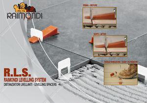 Raimondi level system kit rls pavimento distanziatori - Distanziatori per piastrelle ...