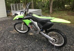 2007 KX250F with papers