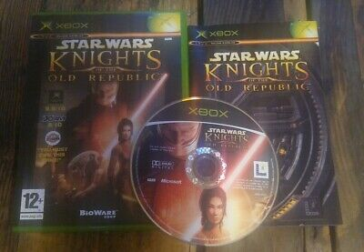 Star Wars Knights of the Old Republic (Microsoft Xbox, 2003)