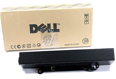 New! Dell Genuine Flat Panel Stereo Surround Sound Bar PC Computer Tv Audio   ()
