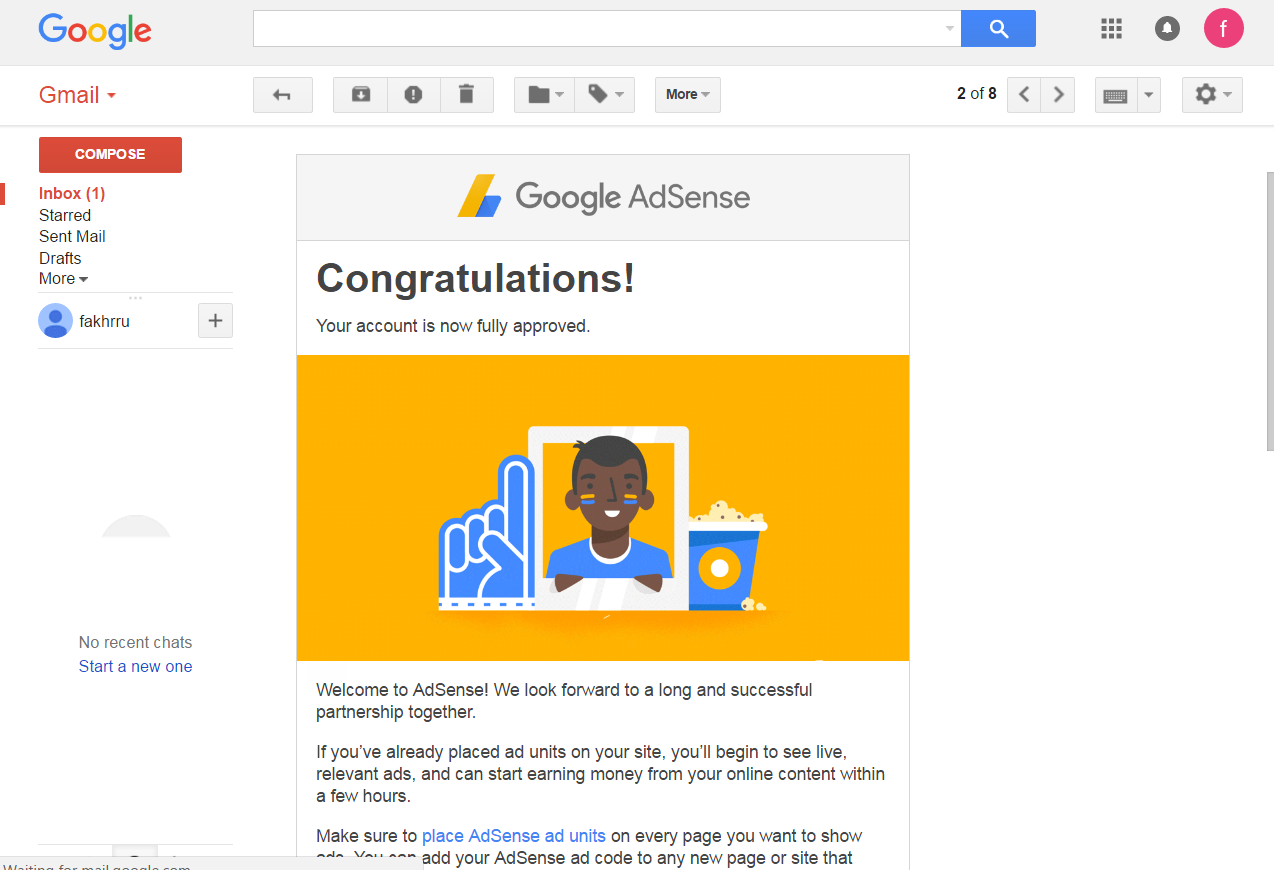 google adsense USA non hosted account for website  4