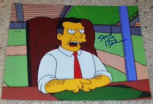 STACY KEACH SIGNED AUTOGRAPH THE SIMPSONS HOWARD K DUFF 8x10 PHOTO w/EXACT PROOF