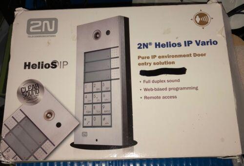 Cortelco 2N Helios IP Vario SIP Door Entry System 9137111KU