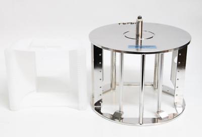 """Semitool Verteq Rotor A192-81M-0215 & 8"""" Wafer Cassette SRD (6278) for sale  Goleta"""