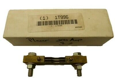 Simpson 06504  Shunt 200 Amp 50mv New In Box