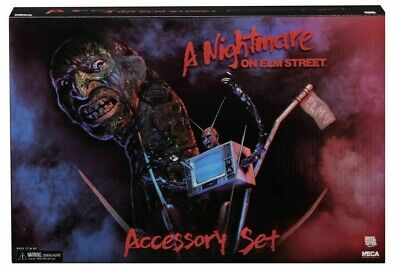 A Nightmare On Elm Street Zubehör Set für - Freddy Krueger Zubehör